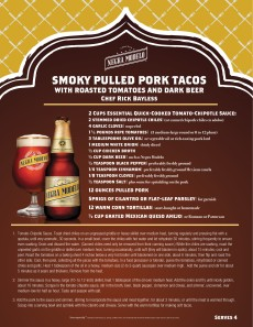 Rick Bayless Pulled Pork Tacos